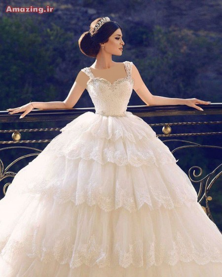 لباس عروس 96 , مدل لباس عروس 2017 , لباس عروس سال , لباس عروس شیک , لباس عروس پفی , لباس عروس ایرانی