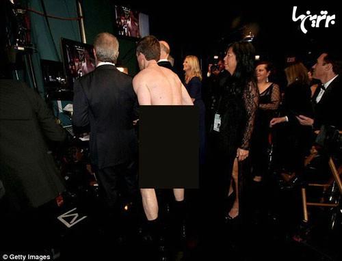 مجری اسکار روی صحنه لخت شد