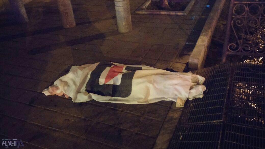 عکس های تصادف پورشه هوتن قلعه نویی