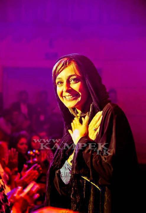 73695521125458458751 عکس های جدید ساره بیات در کنسرت رضا یزدانی