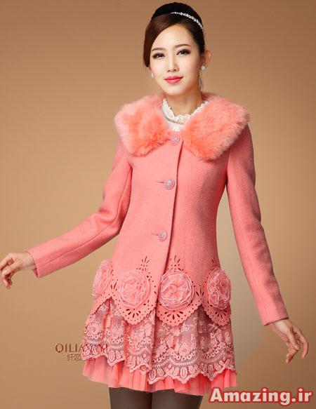 مدل پالتو گیپور , پالتو دخترانه , پالتو جدید کره ایی