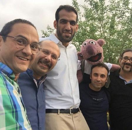 جناب خان , عکس جناب خان , عکس صدا پیشه جناب خان , عکس عروسک گردان جناب خان