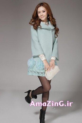 مدل پالتو,عکس مدل پالتو کره ایی,مدل پالتو دخترانه