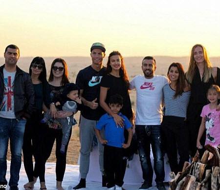 رونالدو و ایرینا شایک , عکس های کریس رونالدو و نامزدش , کریس رونالدو و زنش