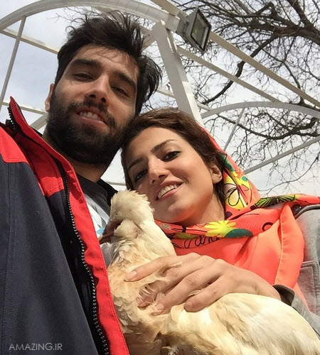 محمد موسوی و همسرش ؟, اینستاگرام محمد موسوی