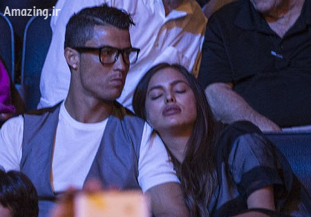 رونالدو و ایرینا شایک , عکس های رونالدو و نامزدش , رونالدو و همسرش