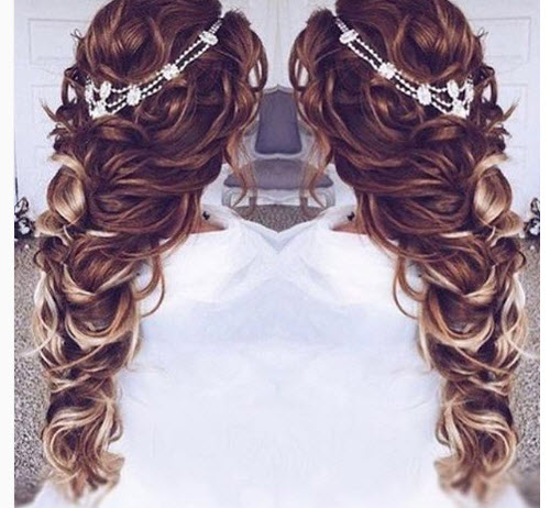 مدل مو , مدل مو زنانه , بافت مو , شینیون مو , مو دخترانه , مدل مو بلند , مدل مو عروس , مدل مو جدید