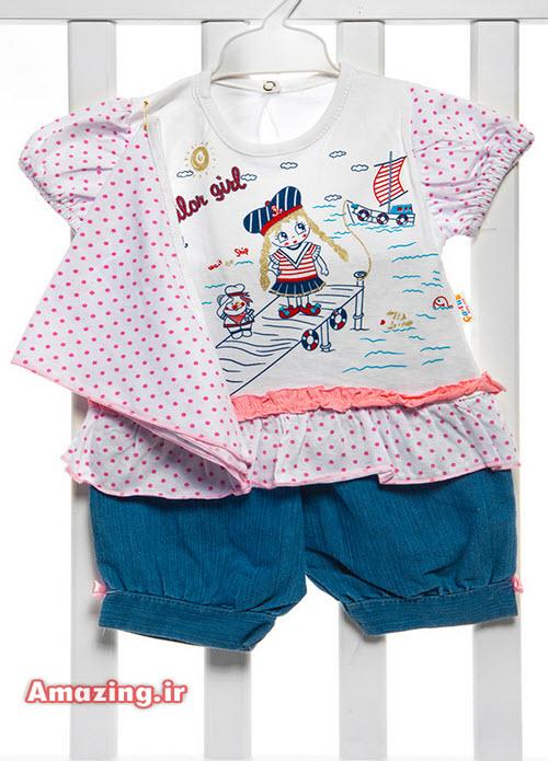 دوخت لباس نوزاد دختر , مدل لباس نوزاد , الگو لباس نوزادی دخترانه