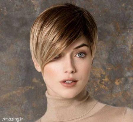 شینیون مو 94 , مدل مو کوتاه دخترانه , مدل موی زنانه 94